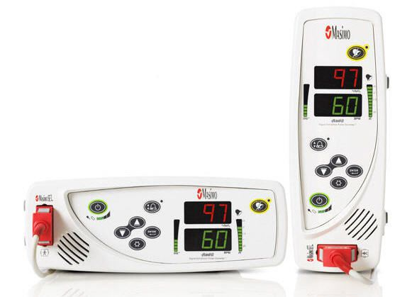 Table-top pulse oximeter / with separate sensor Rad-8® Masimo