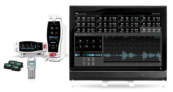 Monitoring software / medical SafetyNet Masimo