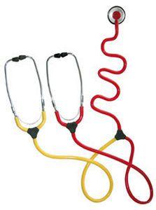 Dual-head stethoscope / teaching Duo KaWe