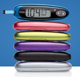 Blood glucose meter OneTouch® UltraMini® Lifescan