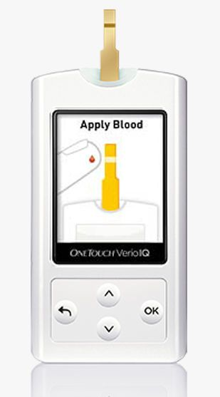 Blood glucose meter OneTouch® Verio®IQ Lifescan