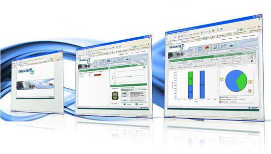 Diabetes management software GlucoLog Menarini Diagnostics