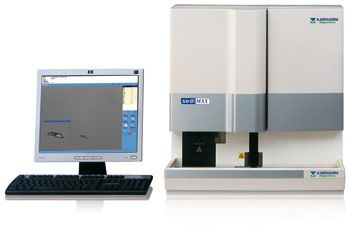 Automatic urine sediment analyzer sediMAX Menarini Diagnostics