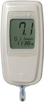 Blood glucose meter 10 - 600 mg/dL | GLUCOCARD X Menarini Diagnostics