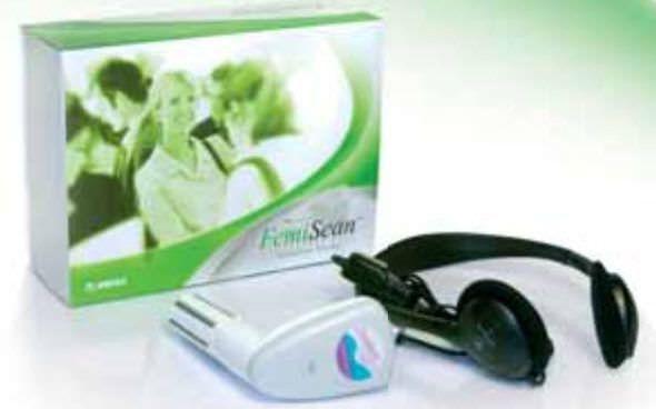 Electro-stimulator (physiotherapy) / hand-held / perineal electro-stimulation / 2-channel FemiScan HomeTrainer Mega Electronics