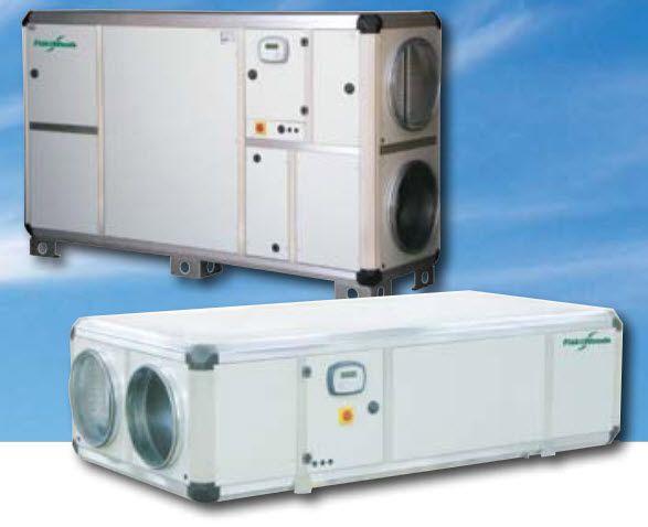 Heat exchanger for healthcare facilities e3co Crown Fläkt Woods Group