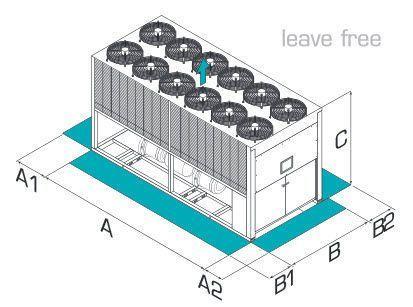 Air-cooled water chiller KCCE Fläkt Woods Group