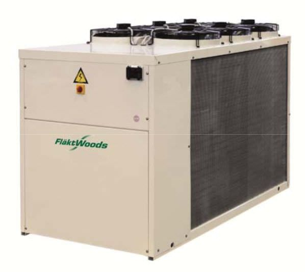 Air-cooled water chiller KCAG Fläkt Woods Group