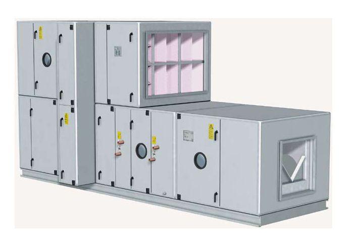 Air handling unit modular / for healthcare facilities EU Fläkt Woods Group