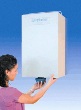 Plaster silo for dental laboratory SYLOPLASTER Manfredi