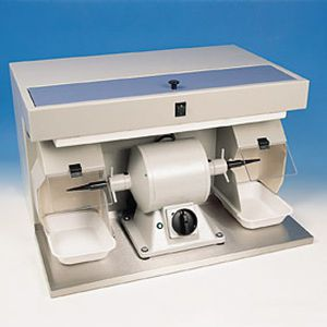 Dental laboratory polishing lathe with vacuum cleaner ASPYCLEAN + M2V Manfredi