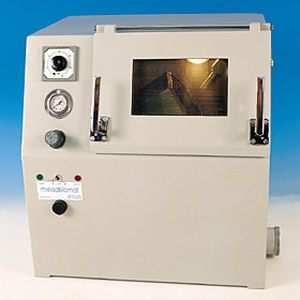 Automatic dental laboratory sandblaster MINISABLOMAT Manfredi