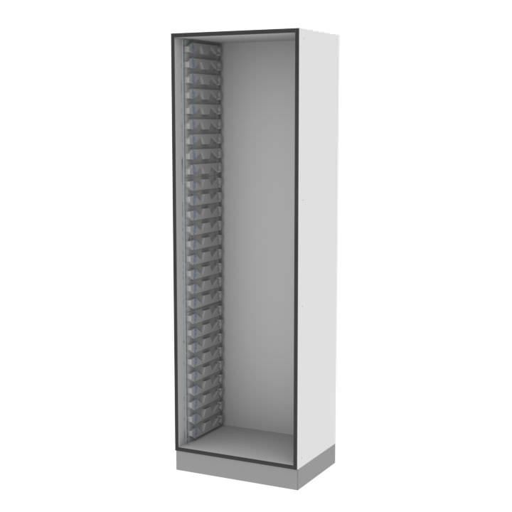 Medical cabinet / storage / for healthcare facilities / modular MMSlog® MEDICAL MODULAR SYSTEM S.A. (MMS)