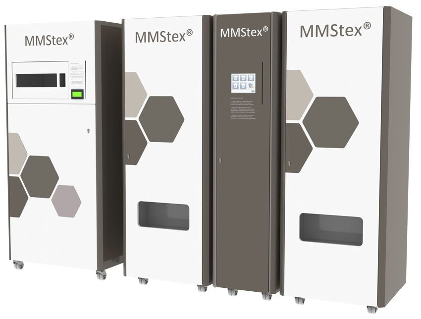 Logistics management system / for medical clothing MMStex® MEDICAL MODULAR SYSTEM S.A. (MMS)