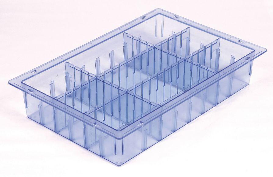 Modular shelving system 600 x 400 mm, ISO 3394 | MMSlog® MEDICAL MODULAR SYSTEM S.A. (MMS)