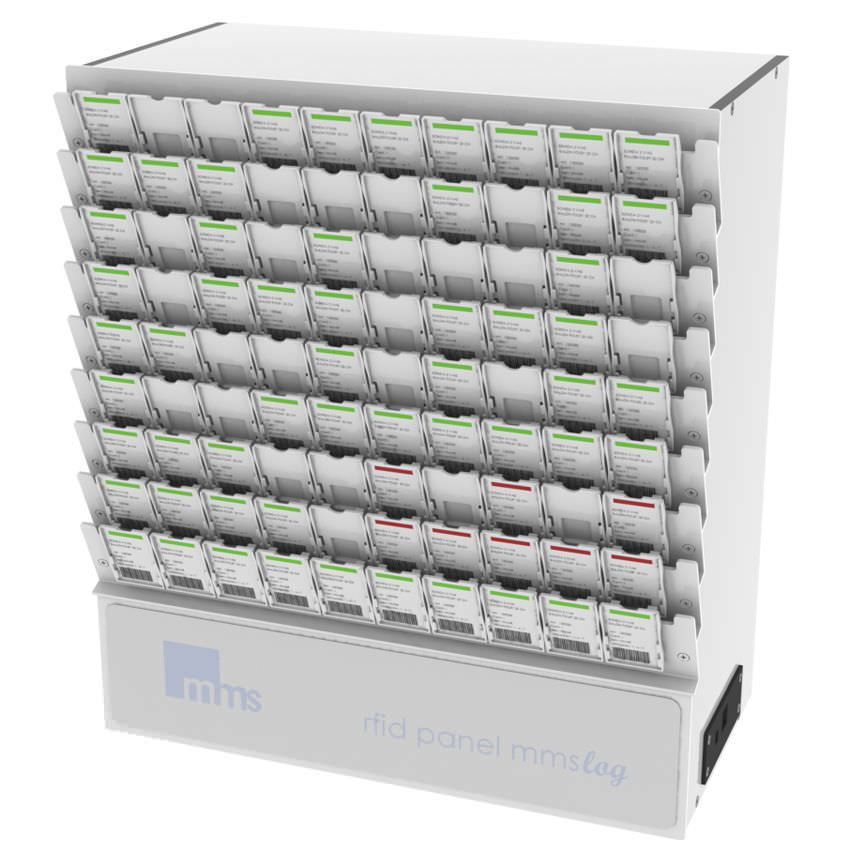 Inventory management system / medical MMSlog® MEDICAL MODULAR SYSTEM S.A. (MMS)