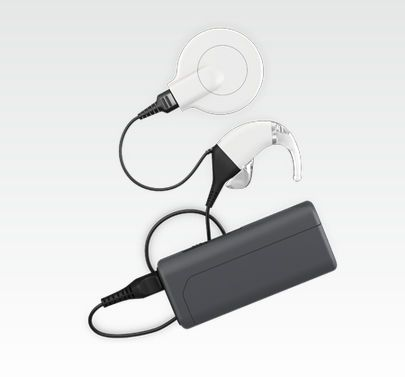 Behind the ear processor cochlear implant / remote battery OPUS 2 MED-EL