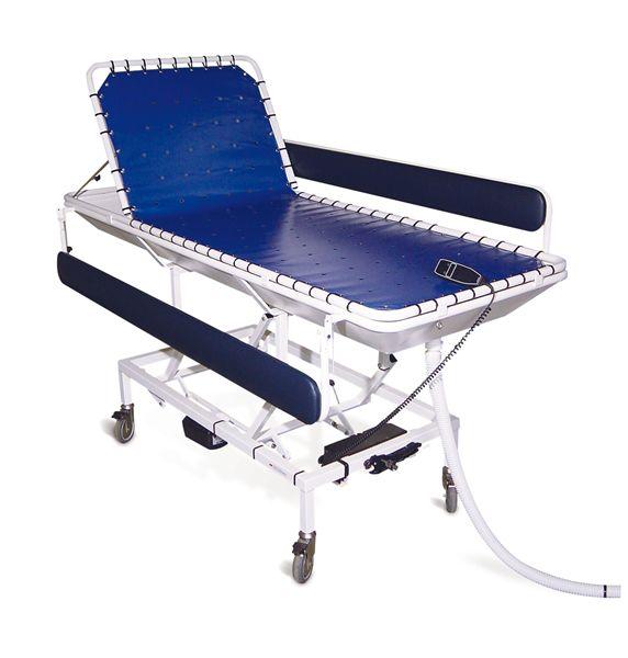 Hydraulic shower trolley / height-adjustable Stylex Lopital Nederland