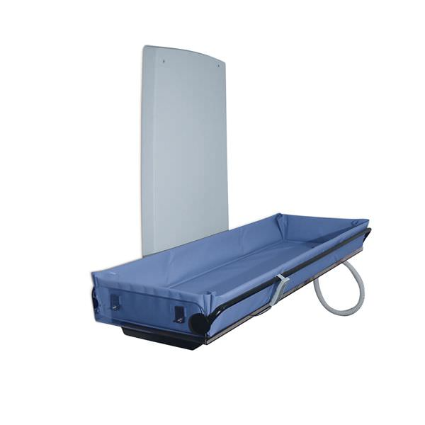 Height-adjustable shower stretcher / wall-mounted / electric Sirocco Lopital Nederland