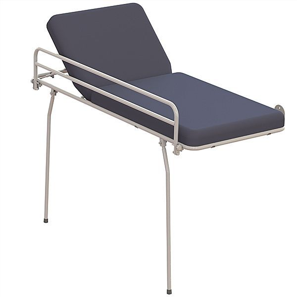 Fixed examination table / 2-section / wall-mounted 65004070 Lopital Nederland