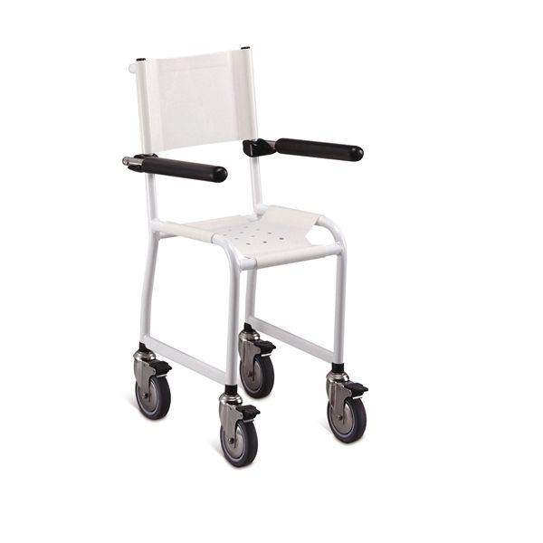 Shower chair / on casters / pediatric childrens Lopital Nederland