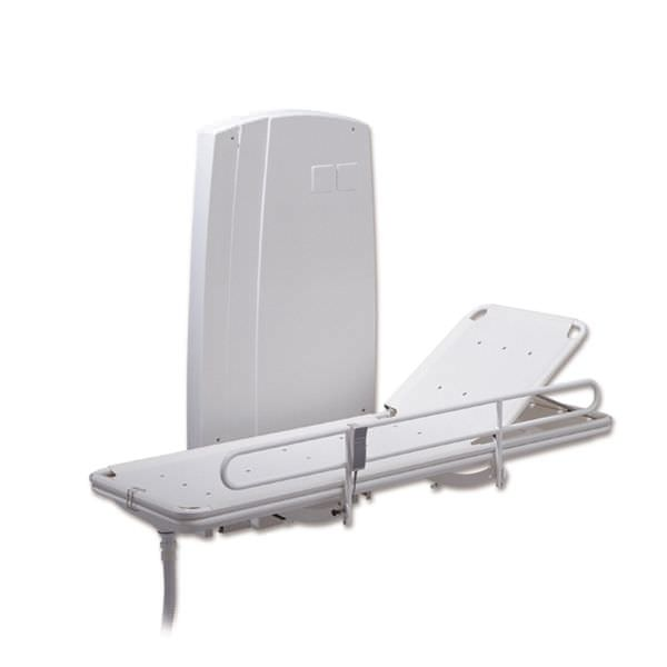 Height-adjustable shower stretcher / wall-mounted / electric Pelikaan Lopital Nederland
