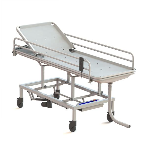 Electrical shower trolley / bariatric / height-adjustable Pelikaan Lopital Nederland