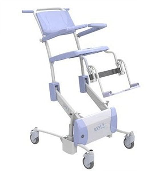 Shower chair / electrical / height-adjustable Elexo Lopital Nederland