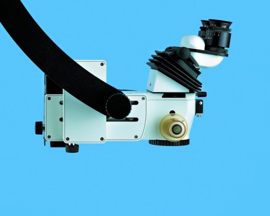 Operating microscope (surgical microscopy) / ENT surgery / mobile M400 E Leica Microsystems