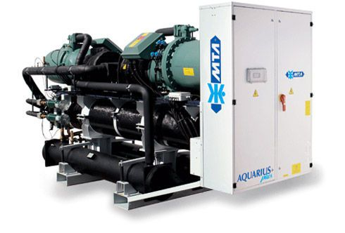 Water/water heat pump / reversible 356 - 1281 kw | AQUARIUS plus M.T.A. S.p.A.