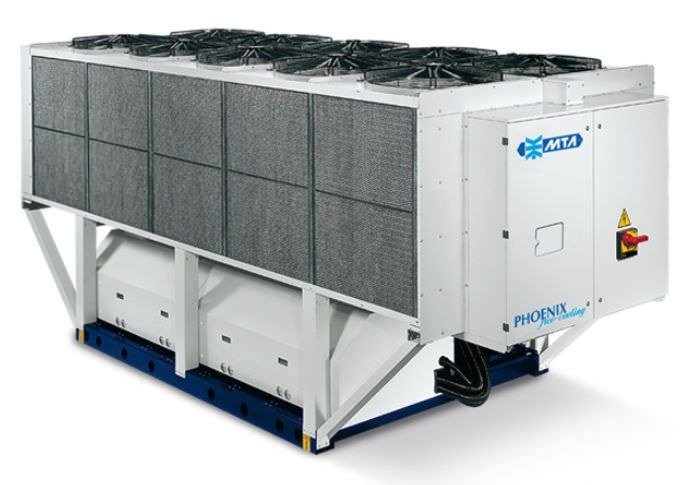 Free cooling water chiller / for healthcare facilities 187 - 489 kw | PHOENIX M.T.A. S.p.A.