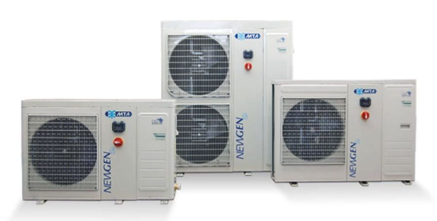 Air/water heat pump / inverter / reversible NEWGEN Si M.T.A. S.p.A.