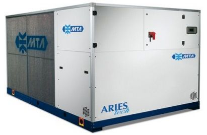 Air-cooled water chiller / for healthcare facilities 162 - 331 kw | ARIES M.T.A. S.p.A.