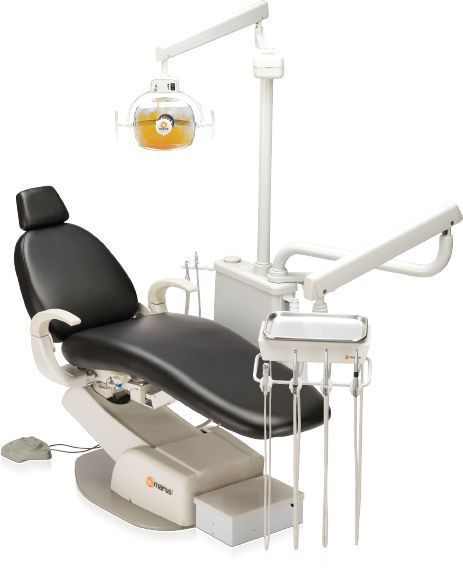 Dental treatment unit with delivery system / with lamp NuStar SII Pro+ Marus