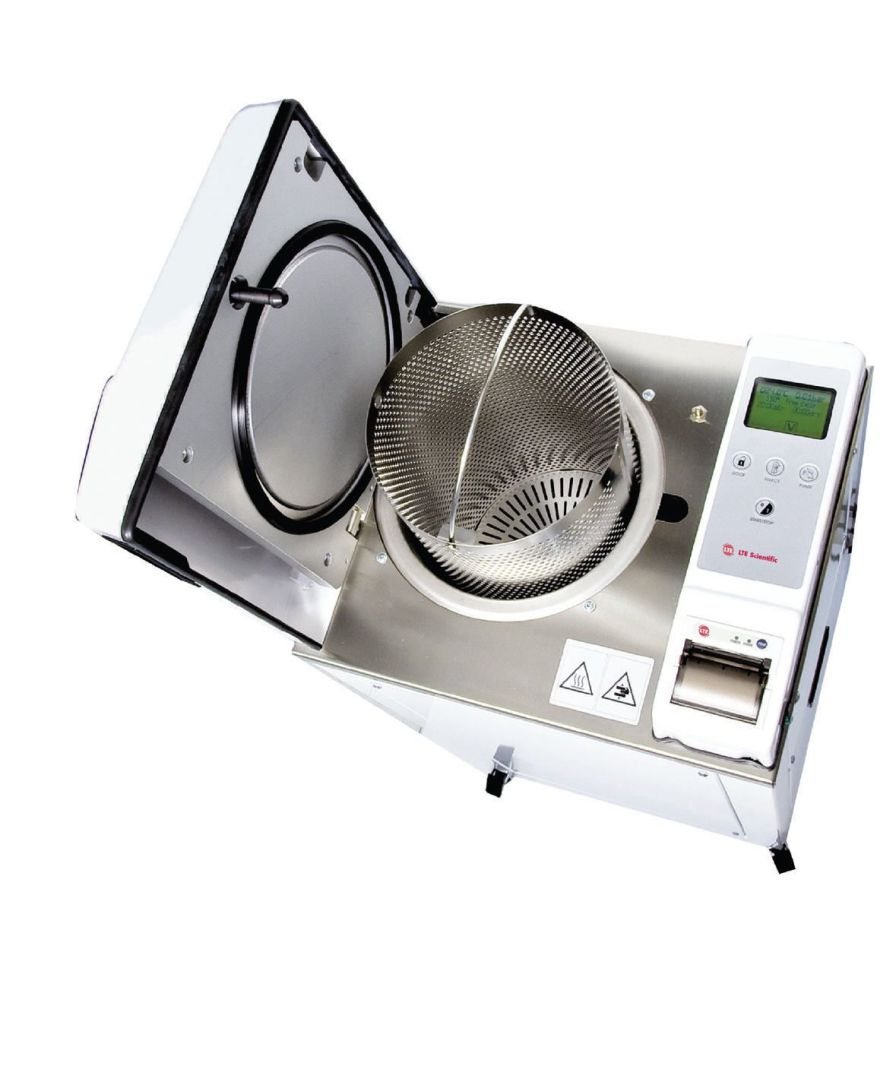 Laboratory autoclave / vertical LABCLAVE 23 LTE Scientific