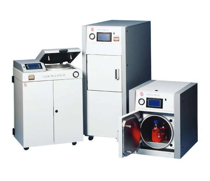 Laboratory autoclave Touchclave - R LTE Scientific