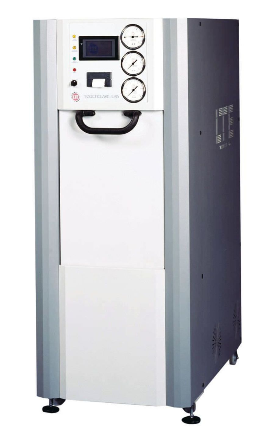 Medical autoclave / vertical / with sliding door TOUCHCLAVE-LAB K SERIES LTE Scientific