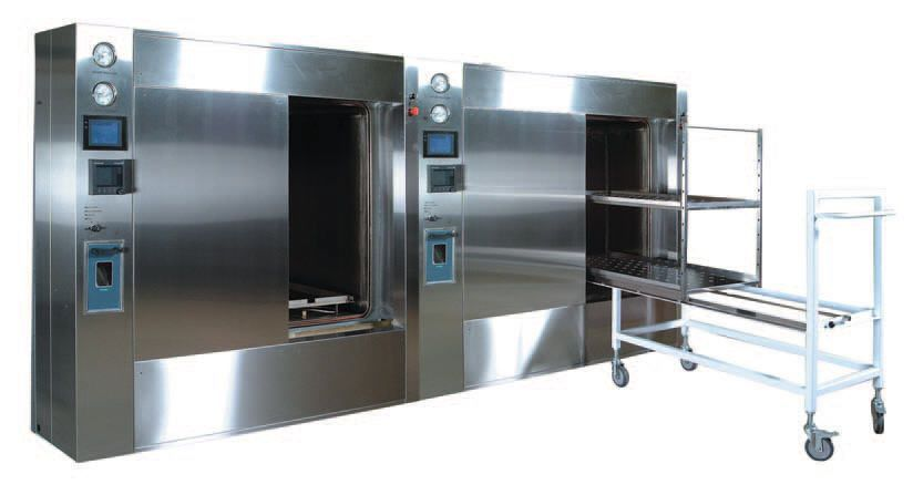 Medical autoclave / horizontal / with sliding door TOUCHCLAVE SYSTEM MP LTE Scientific