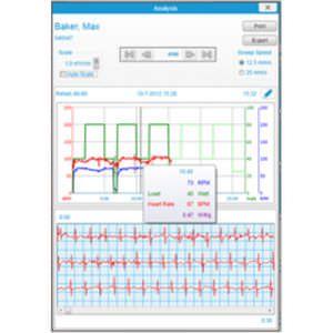 Physical activity telemonitoring software Lode Cardiac Rehab Manager 16 Lode