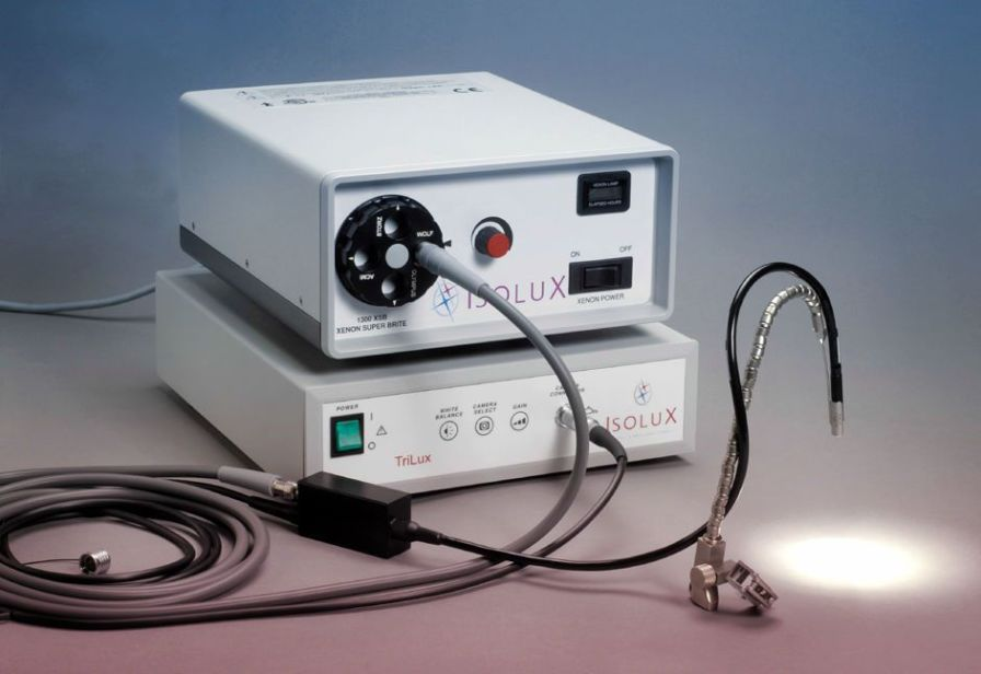 Endoscopy video processor / for camera heads IsoluX Luxtel