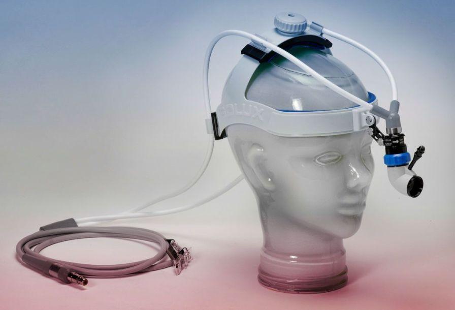 Fiber optic headlight Dual Ratchet Luxtel