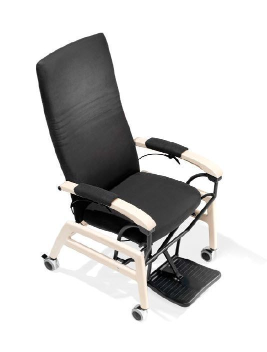Medical sleeper chair / on casters / reclining / manual 7200 CARE Kusch+Co Sitzmöbelwerke & Co KG