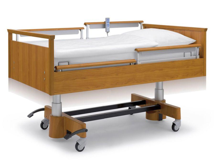 Nursing home bed / electrical / on casters / height-adjustable Estetica Hospitel LINET