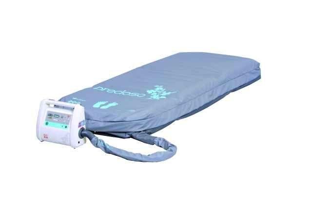 Hospital bed overlay mattress / anti-decubitus / dynamic air / tube 160 kg | Precioso LINET