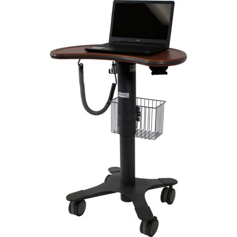 DataCart by Lund -  DCT-1KMT - Medium Kidney Work-surface Cart, Laptop Cart