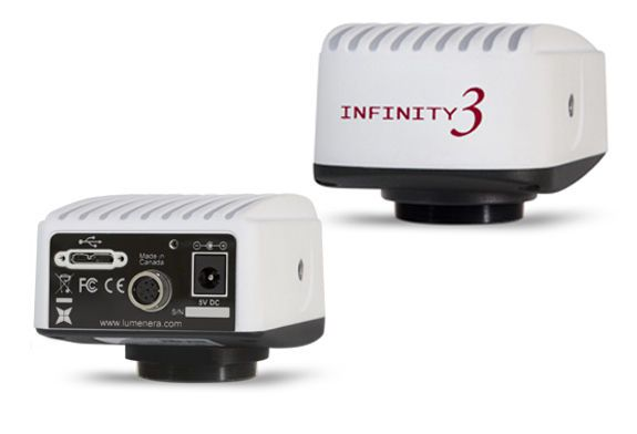 Digital camera / for laboratory microscopes / CCD 2.8 Mpx | INFINITY3-3UR Lumenera Corporation