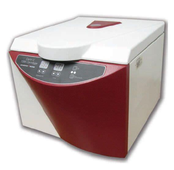 Veterinary laboratory centrifuge / bench-top 5000 rpm | Centri-V 1586 Leading Edge