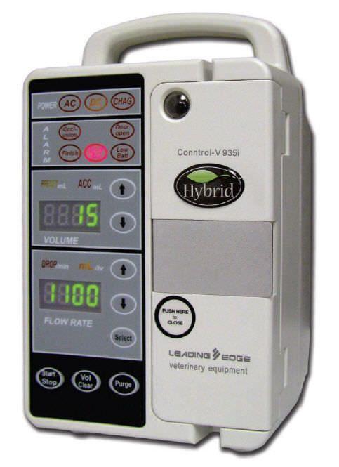 Volumetric infusion pump / 1 channel / veterinary 1 - 1100 mL/h | Conntrol-V 935i Leading Edge