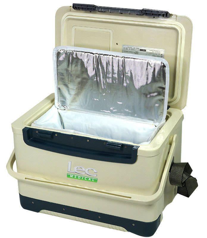 Pharmacy refrigerator / portable / 1-door 2 °C ... 8 ° C, 12 - 13 L Lec Medical