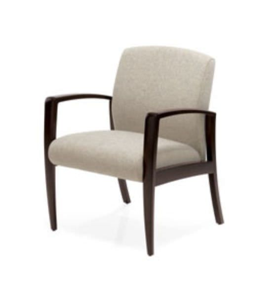 Waiting room chair / with armrests Jordan Guest Krug